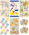 BABY Sticker Sheets FMI Frances Meyer Choice CHRISTENING BEARS BABY SEALS  &more