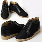 New Gentle Mens Sneakers Black Comfort Casual Lace Up Ankle Boots Shoes