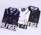 NEW TOMMY HILFIGER MEN'S CUSTOM FIT MESH LOGO RUGBY POLO SHIRT - FREE SHIPPING