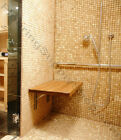 Teak Shower Bench Made in the USA FSC Certified Plantation Indoor/Outdoor use