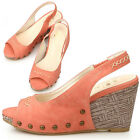New Womens Hot Sexy Designer Heels Wedge Platform Sandals Pink