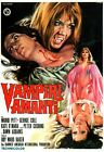 Vampire Lovers 02 B-MOVIE POSTER REPRODUCTION PRINT A4 A3 A2 A1