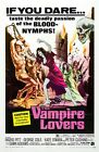 Vampire Lovers 01 B-MOVIE POSTER REPRODUCTION PRINT A4 A3 A2 A1