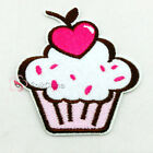 Cute Heart Cake Iron On Patches 7.5x8.2cm R1239