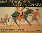 Vintage Poster Mablethorpe & Sutton On Sea TPU014 Art Print A4 A3 A2 A1