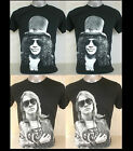Slash, Axl Rose  T-Shirt S M L XL Unisex Guns N Roses & And GNR
