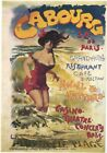 Vintage Advertisment Poster Cabourg WIA005 Art Print Canvas A4 A3 A2 A1