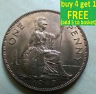 King George VI One Penny Choice 1937 - 1951 Pick Your Own; Choose