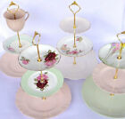 How to make 3 Tier Vintage Wedding Cake plate tiered Stand DIY HEAVY Fitting