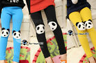 Autumn Kids Girls Child Baby Toddlers Unisex Leg China Panda Candy Leggings 2-7Y