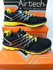 "Airtech Men's Black/Yellow  Synthetic Fashion Trainers ""ORBIT"""