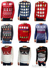 Mens & Ladies novelty christmas xmas winter festive fairisle jumpers vtg retro