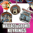WALLACE AND GROMIT KEY RINGS COLLECTIBLE KEYRING CHRISTMAS GIFT XMAS PRESENT