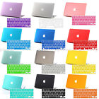 Free KB Cover+Rubberized Hard Shell Case Skin for MAC MacBook Pro 13/13.3 Laptop