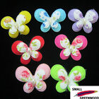"(U Pick) Wholesale 35-350 Pcs. 1-3/8"" Padded Felt Butterfly Appliques B0220"