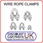 Wire rope grips clamps u bolts cable cord tie heavy duty steel metal wire
