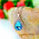 Hot New 18K GP Swarovski Crystal Necklace Pendant options 6 colours 0407d