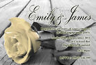 Personalised Engagement Party Invitations Rose Invites E18
