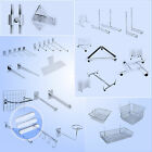 GRID WALL/ GRIDWALL MESH CHROME RETAIL SHOP DISPLAY PANEL ACCESSORY/ ACCESSORIES
