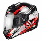LS2 FF351 WOLF FULL FACE LIGHTWEIGHT MOTORCYCLE MOTORBIKE CRASH HELMET WULF
