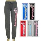 Grip Ladies French Terry Solid Pants with Screen Print in 5 Colors & 4 Sizes