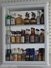 Wall Curio Cabinet Display Case Shadow Box, Home Accents for Figurines, CD06