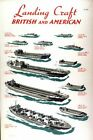 World War Two Allied Landing Craft Recognition Poster A3 Print
