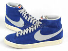 Nike Blazer Mid PRM VNTG Suede Vintage Deep Royal/Grey-Brown Casual 538282-400