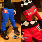 Spring Autumn boys baby child kids Toddlers Casual No.1978 Pants Trousers 2-6Y