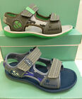 "SALE £15.00 Clarks Boys Blue or Grey Sandals  ""CASUAL SUN"" G-Fitting"