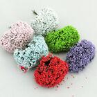 "144 ""Baby's Breath"" Flower Craft Embellishments Cardmaking Scrapbooking Wedding"
