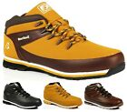MENS LACE UP ANKLE OUTDOOR 'NON SAFETY' WORK CASUAL SHOES BOOTS SZ 7-12
