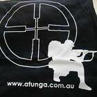 NEW BLACK ATUNGA ARCHERY T-SHIRT WITH TARGET SNIPER GRAPHICS