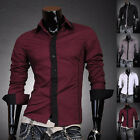 2014 New Mens Collection Stylish Sexy Formal Casual Slim-Fit Dress Shirt-BSS