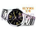 Eyki Overfly Luxury Stainless Steel Silver Analogue Watch BRAND NEW ~tokyo168
