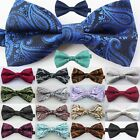 Yibei ties Woven Paisley Adjustable Man Adults Bowties Tuxedo Quality Bow tie