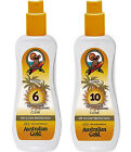 Australian Gold OUTDOOR SPRAY GEL LOTIONS SPF 6 & SPF 10 Sunscreen / Protection