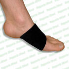 Orthotics Foot Arch Support Strap Silicone Wedge Shoe Insole Insert Brace Band