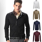 UK C60 New Mens Luxury Casual Slim Fit Stylish Dress Shirts Formal Tops 5 Colors