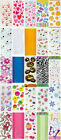 20 OR 30 CELLO BIRTHDAY PARTY BAGS PATTERNED OR CLEAR CELLOPHANE LOOT GIFT BAGS
