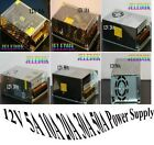 NEW 12V 5A 10A 20A 30A 50A Power Supply Transformer for LED Strip light CCTV