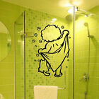 Large Bathroom, Shower Door, Wall Art Vinyl Stickers, Wall Decal- High Quality