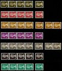 GB Machin Strips of 4, Pairs & Singles from Coils  ( Multiple Listing )  mnh