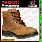 Redback UACH All Terrain, Non Safety Work Boots (Crazy Horse / Bark). Brand New
