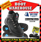 Steel Blue Riverina 312140 Hiking & Work Boots In Black. Steel Toe Cap Safety.
