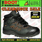 Mongrel Work Boots 580080. Black Hiker Boot, Steel Safety Toe Cap. Brand New.