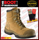 "Oliver Work Boots 55232, 150mm (6""), Lace-Up 'Wheat', Steel Toe Cap Safety. New!"