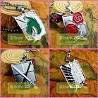 1PC Shingeki no Kyojin Attack on Titan Cosplay Metal Necklace Pendent