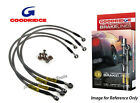 Goodridge VW Golf Gti Mk 3 8V/16V (4 Line) Braided Brake Kit Lines Hoses