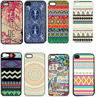 Retro vintage Aztec Geometric tribal Hard Case Back Cover For iPhone 4 4S 4G 5G